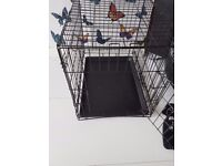 Pet crate with mattress for sale