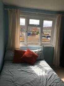 Spacious double room in three bed house