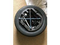 New spare wheel and tools. Bridgestone Turanza ER300