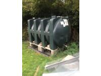 Oil storage tank 2500 ltr