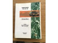 A PROPER RANGE ROVER, WORKSHOP MANUAL 1995/2001 MY