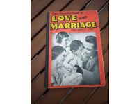 1st edition Every Woman's Book of Love and Marriage and family life.