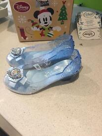 NEW with tags! Disney princess light up Cinderella shoes size 11-12