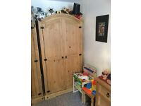 Corona Mexican pine wardrobe 12 months old