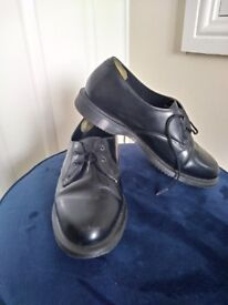 Size 6 Dr Martens shoes with box and bag