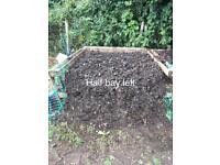 Hot Composted Horse Manure, Fertiliser, Soil Improver, Mulch.