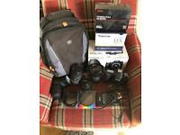 Canon 70d with box
