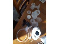 Nuby electric breast pump barley used brand new