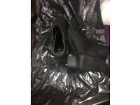 Suede ankle boots 6