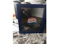 Blue Mini Pepsi-Cola Fridge
