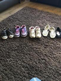 Selection of children's shoes & trainers