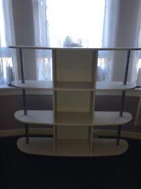 Excellent condition storage units for sale (pair)