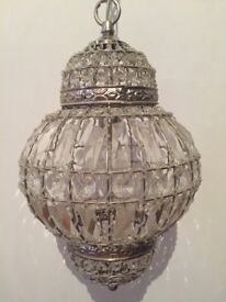 Moroccan style pendant light from John Lewis