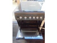 Hotpoint gas cooker gray 50 cm wide nice n clean free delivery