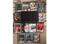 Ps2 + games and 2 controllers