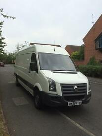 Vw crafter 2.5 Tdi lwb high roof 11 month mot No Vat