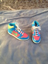 Kids Nike trainers/boots