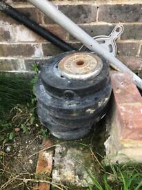 Weights free to collect