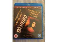 Buried Bluray DVD