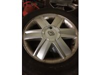 RENAULT 16 INCH ALLOYS - 4x100 FITMENT