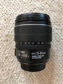 Canon EF-S 15-85mm F3.5-5.6