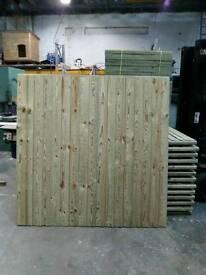 6x6 heavy duty fencing panel