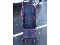 Hauck kids pushchair still like new.