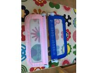 Safety bed rails blue and pink 5£ each