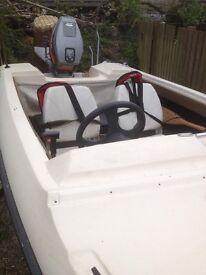 14 ft fletcher speedboat