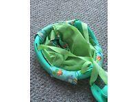 Bright stars baby door swing bouncer chair
