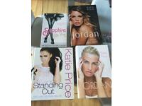 Bundle of bestselling Katie Price books