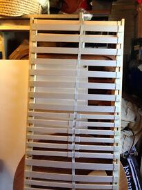 wooden slat bed ikea