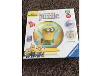 Brand new and sealed minion 3D jigsaw