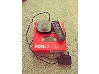 Roku 3 (3rd Generation) Digital HD Media Streamer - 4200EU