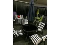 Brand new 6 piece patio set