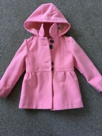 Girls coat age 5-6 from Next