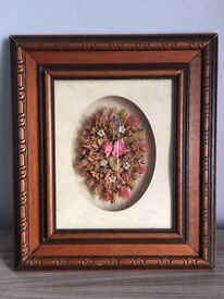 Wall mounted decorative flower frame at only £5