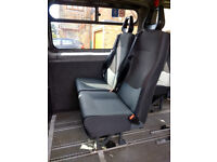 Minibus/crewbus/van seats with integral headrests and 3 point seatbelts - 9 available @ £15 each.