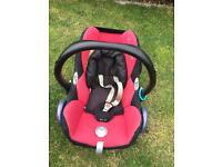Maxi cosi car seat & baby liner