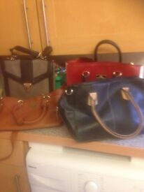 Selection of ladies bags need gone asap good condition