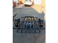 2 + 1 Motorcycle Trailer / Small Trailer