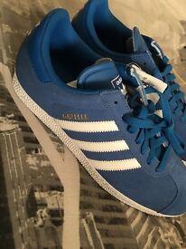 Adidas Blue Gazelles