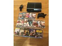 80gb PS3 CONSOLE with 15 GAMES £50 no offers