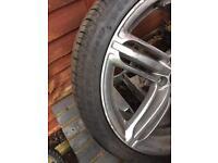 Audi 19 inch alloy wheel .