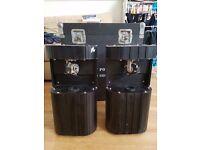 Martin Roboscan 218 Pro x 2, Martin 2308 Controller, Flight Case