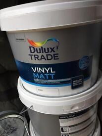 Dulux vinyl matt 10L white