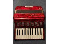 Chanson 12 Bass Piano Key Accordion