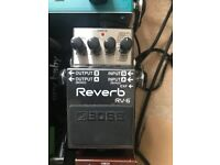 **SOLD** Boss RV-6 Stereo Reverb Pedal