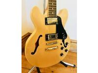 2016 Epiphone ES-339 Pro Dot Semi Hollow Guitar - Natural - Mint Condition