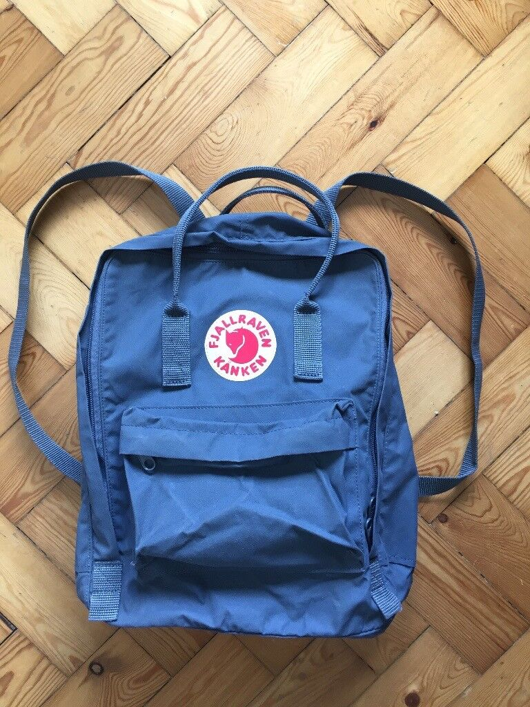 official images info for top fashion FJALLRAVEN Kanken Backpack - Graphite Classic   in Kings Cross, London    Gumtree